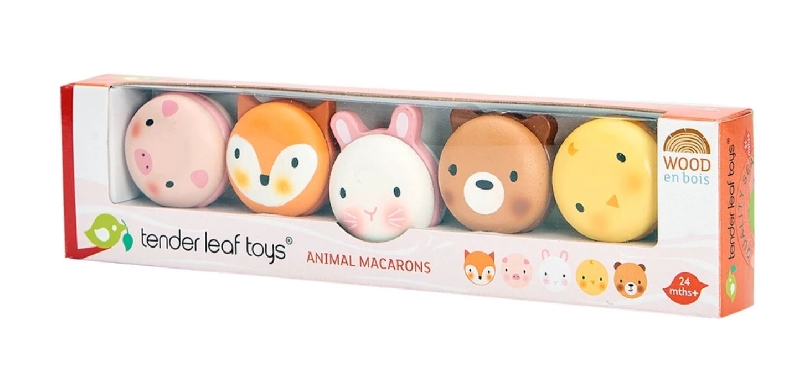 Animal macarons