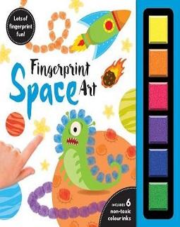 ศิลปะปลายนิ้วมือ : อวกาศ