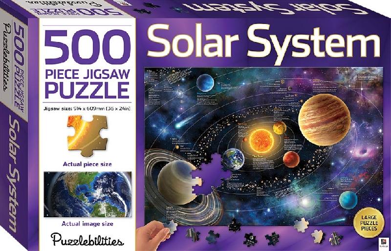 Puzzlebilities 500 piece jigsaw puzzle : solar system