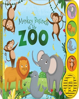 Monkey business at the zoo sound book