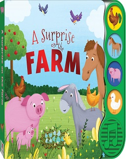 A surprise on the farm sound book