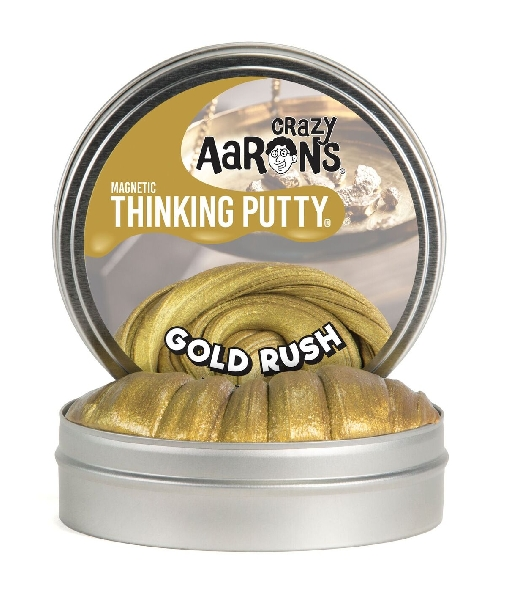 Thinking putty: super magnetic- gold rush 4