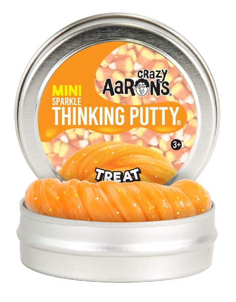 Thinking putty: halloween2018 - treat glitter 2