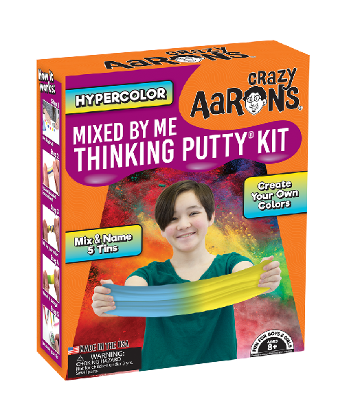 Thinking putty: mixed by me kit-hypercolor
