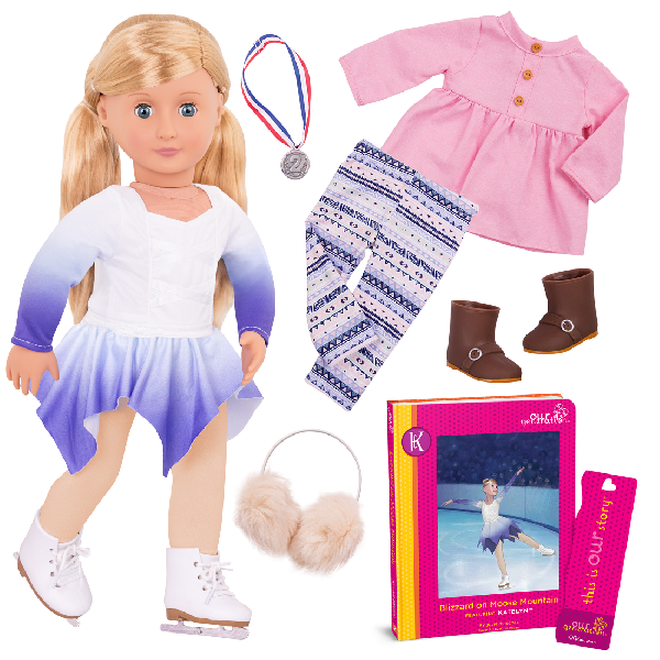 Deluxe doll with book - katelyn