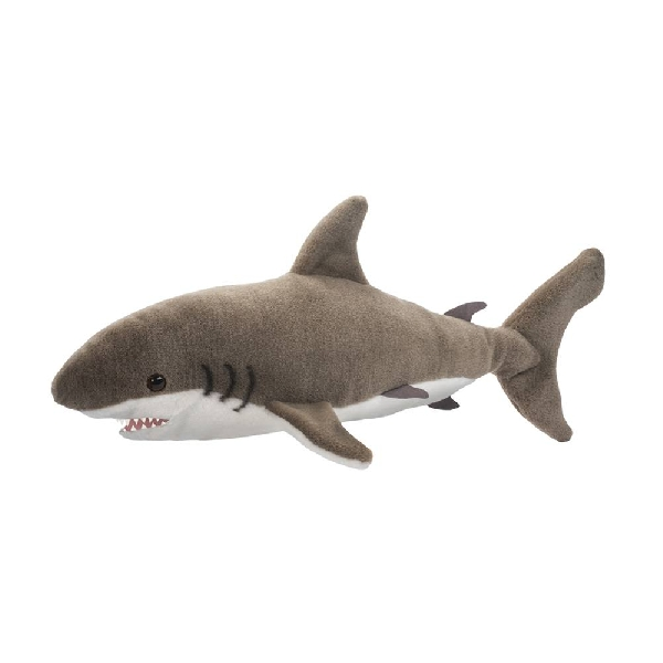 Fin great white shark doll