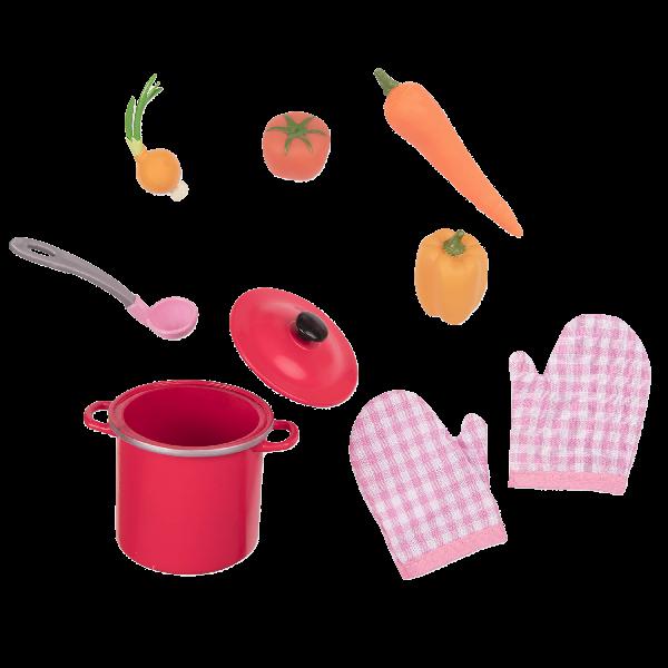 Garden veggie cooking set
