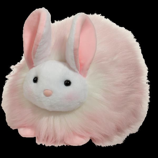 ตุ๊กตานุ่มนิ่ม puff bunny pink