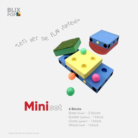 Blix pop ตัวต่อชุดมินิ