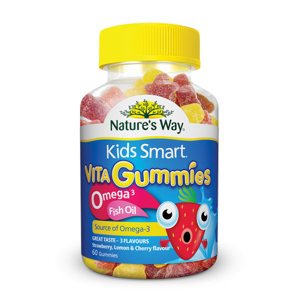 Kids vita gummies omega 3 fish oil