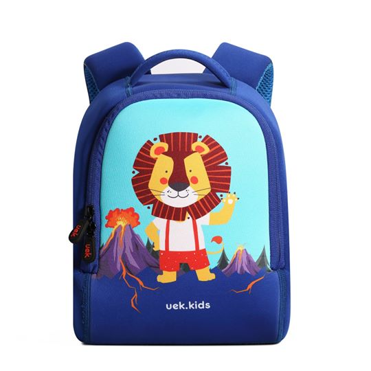 Uek - blue lion backpack  (s)