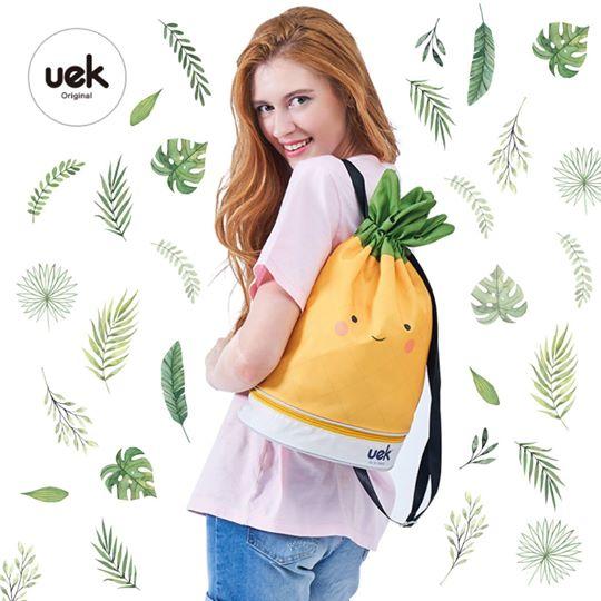 Uek waterproof bag - pineapple
