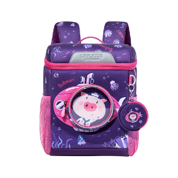 Uek kindergarten backpack - deep sea purple (m)