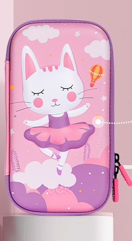 Uek pencil case m - ballet