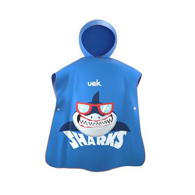 Uek hooded towel - shark blue