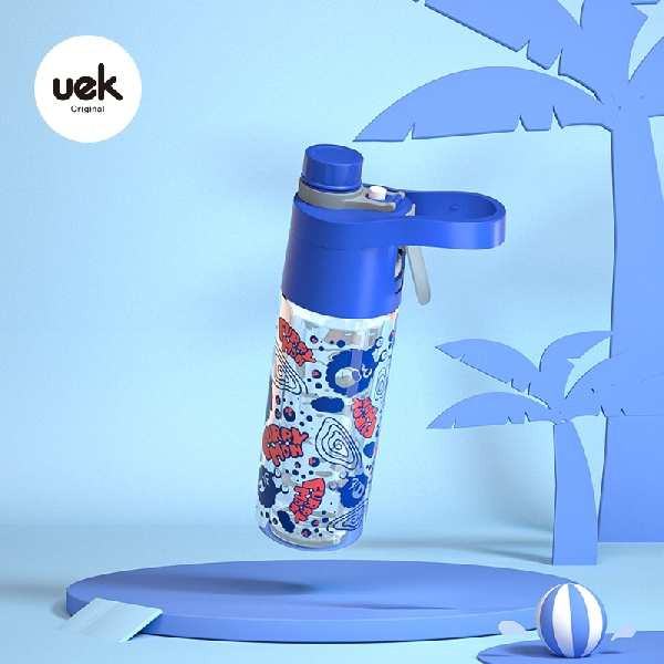 Spray cup - monster blue