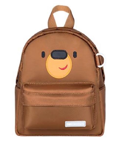 U-fun kids backpack - bear brown