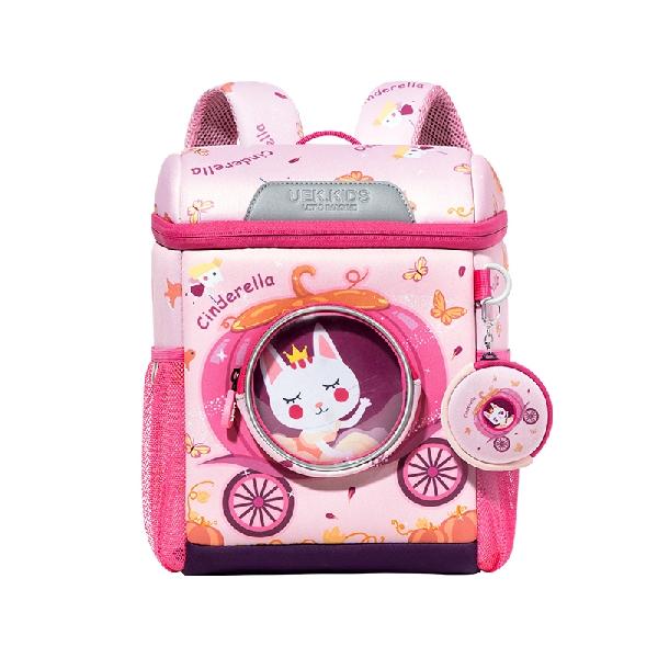 Uek kindergarten backpack - princess carriage  (l)