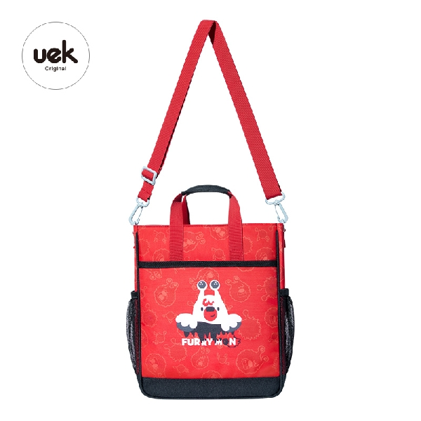 Tutorial bag wonderland - fairy red