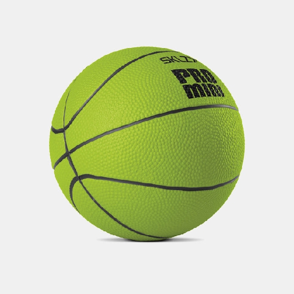 Pro mini hoop swish foam ball - green