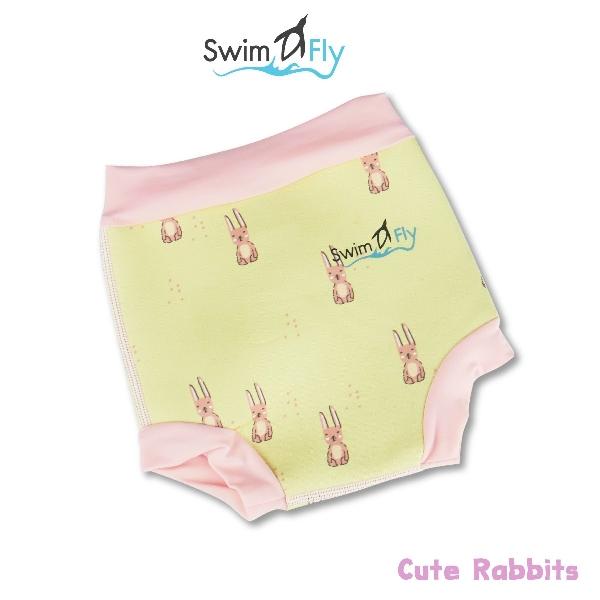 Swimfly กางเกงผ้าอ้อมว่ายน้ำไซส์ xxs ลายrabbit
