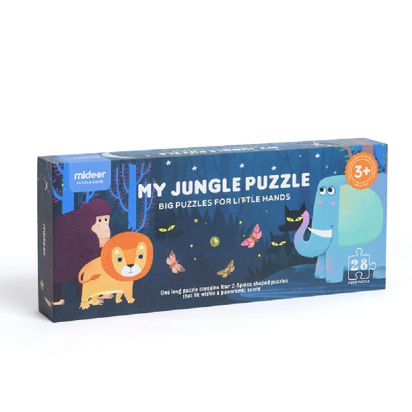 My jungle giant floor puzzle 28pcs