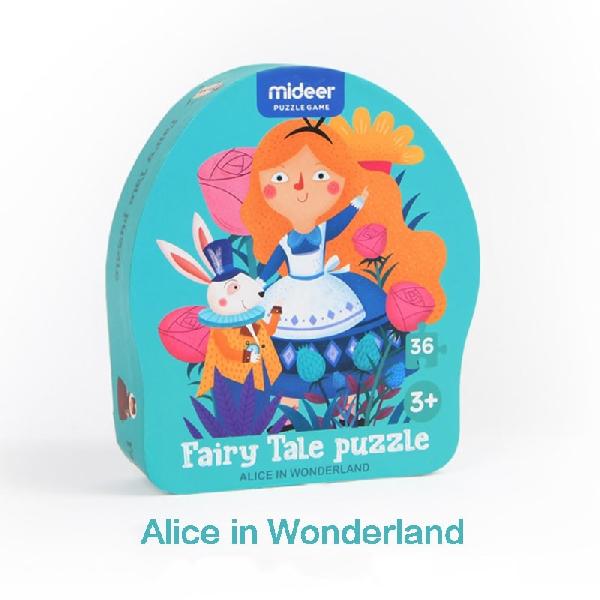 Fairy tale puzzle-alice in wonderworld