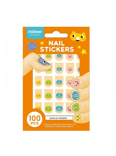 Nail sticker-animal alliance