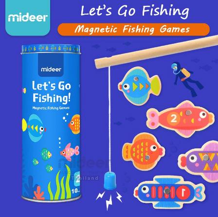 Mideer go fishing