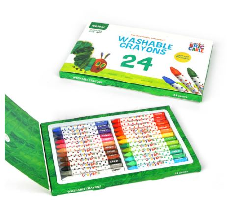 Mideer washable crayons 24 colors