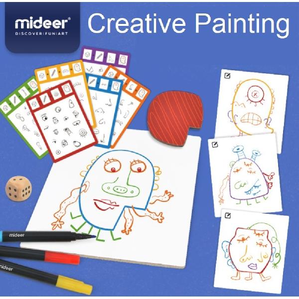 Mideer creative painting