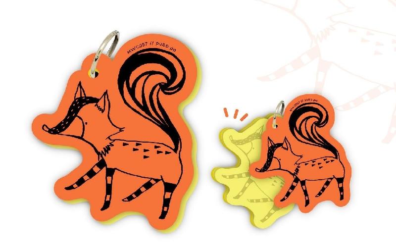 Motif word cards - fox