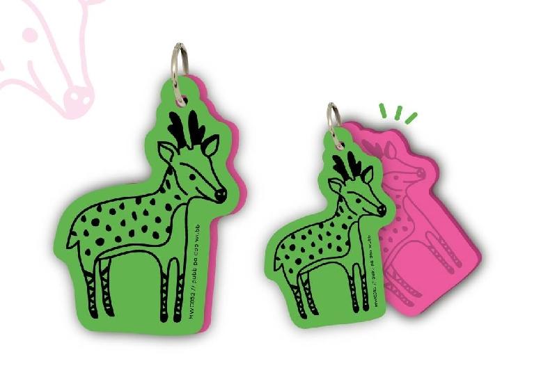 Motif word cards - reindeer