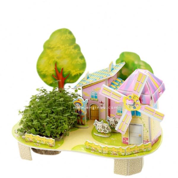 Mini zilipoo windmill house