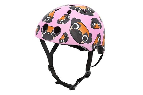 Mini hornit lids pug puppies kids' bicycle helmet
