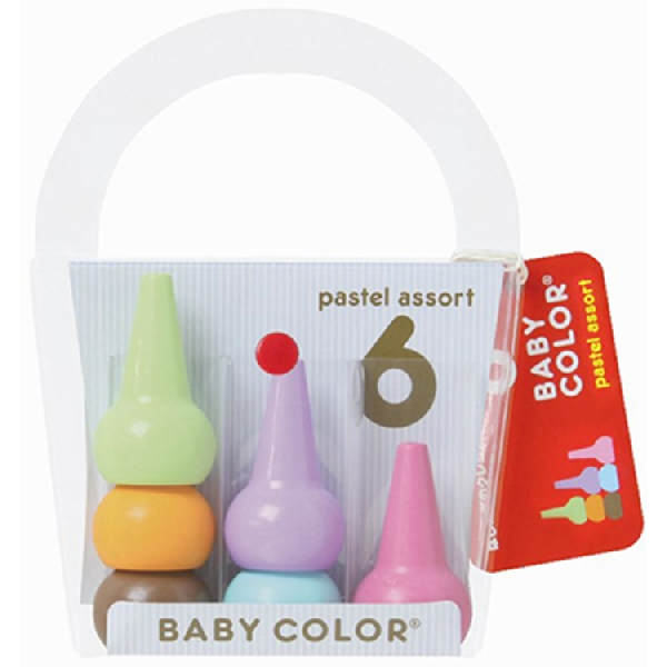 Baby color pastel assort 6 colors