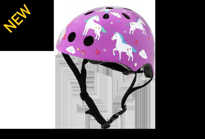 Mini hornit lids - unicorn kids' bicycle helmet