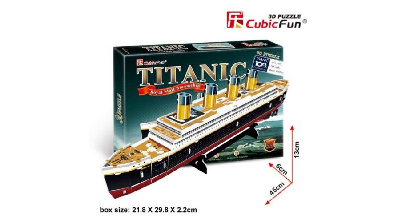 3d puzzle - titanic (small)