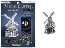 จิ๊กซอว์โลหะ 3 มิติ : windmill