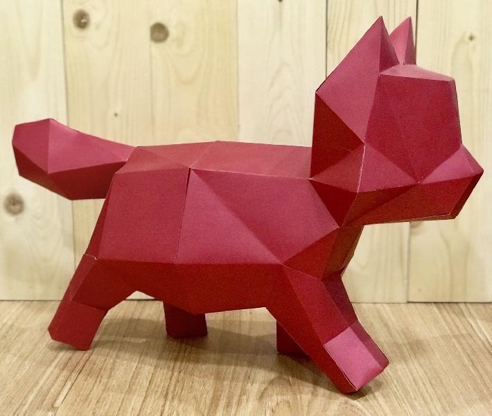ประดิษฐ์กระดาษ รุ่นลูกแมว