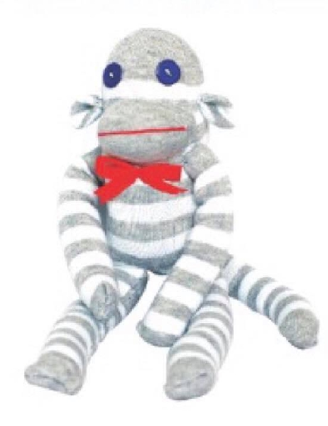 Diy sock - monkey