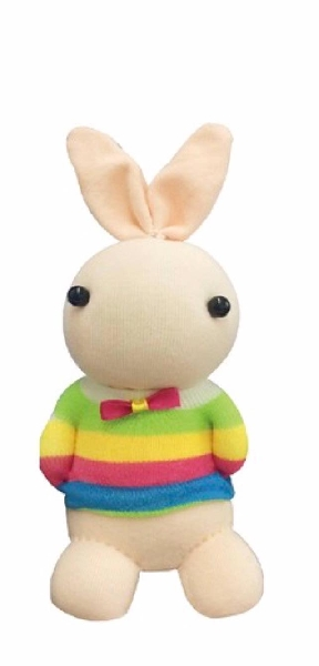 Diy sock - rabbit