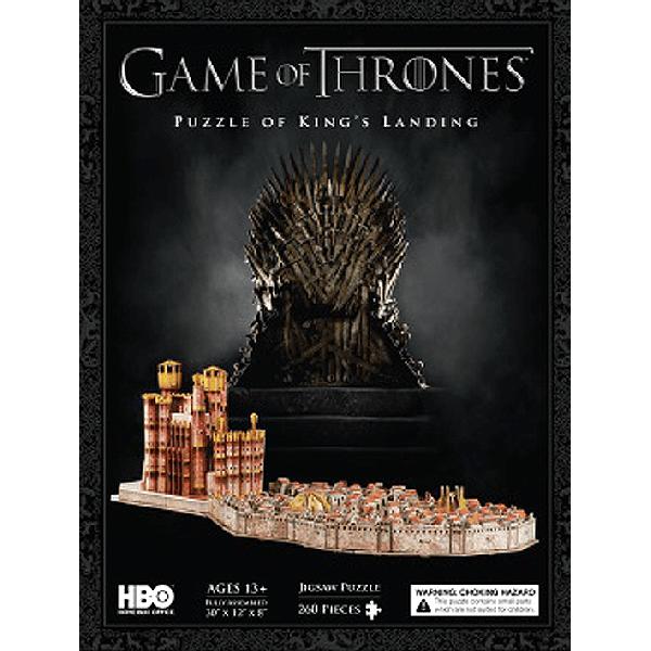จิ๊กซอว์ 3 มิติ : game of thrones puzzle of king's landing