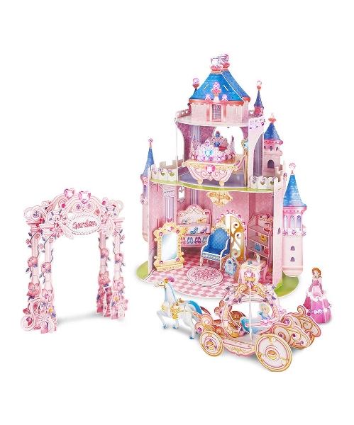 3d puzzle - princess secret garden