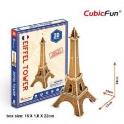 Free gift 3d puzzle eiffel tower
