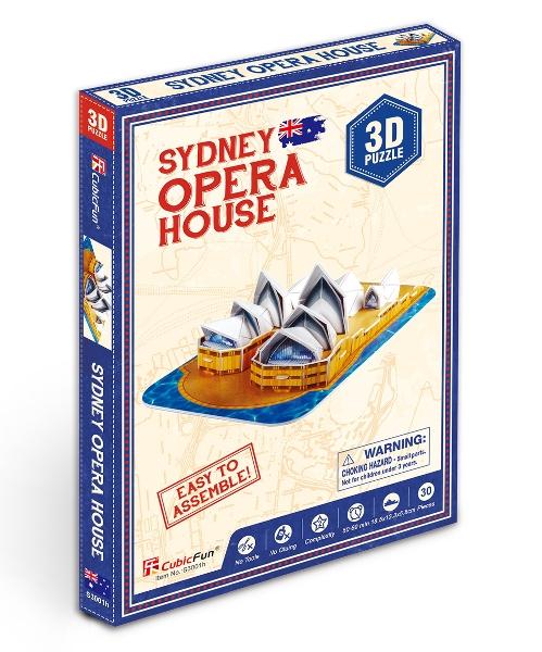 Free gift 3d puzzle sydney opera house