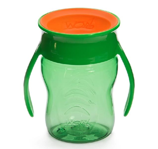 แก้วน้ำหัดดื่ม wow baby - สีเขียว