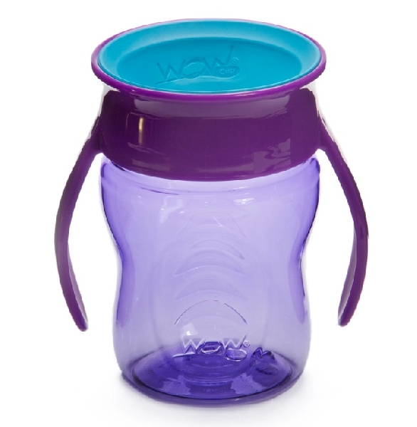 Wow baby training cup - purple