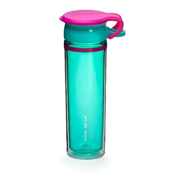 Wow sport tritan - turquoise/pink