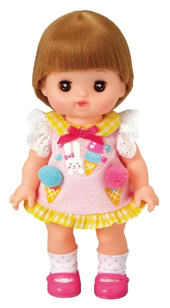Mell chan dress up kit - ice cream pom pom dress